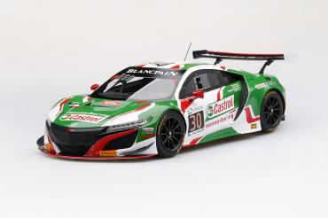 Honda NSX GT3 #30  2018 24Hr of Spa  Castrol Hong Racing