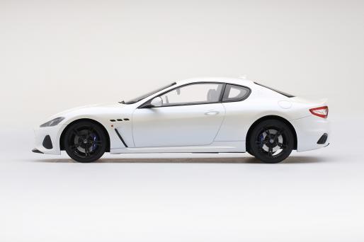 Maserati Granturismo Mc 2018 Bianco Birdcage Top Speed TRUESCALE 1:18 TS0239 Mod